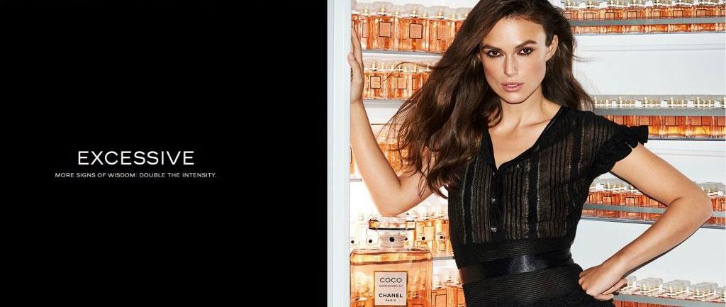 Chanel Coco Mademoiselle campaign - excessive