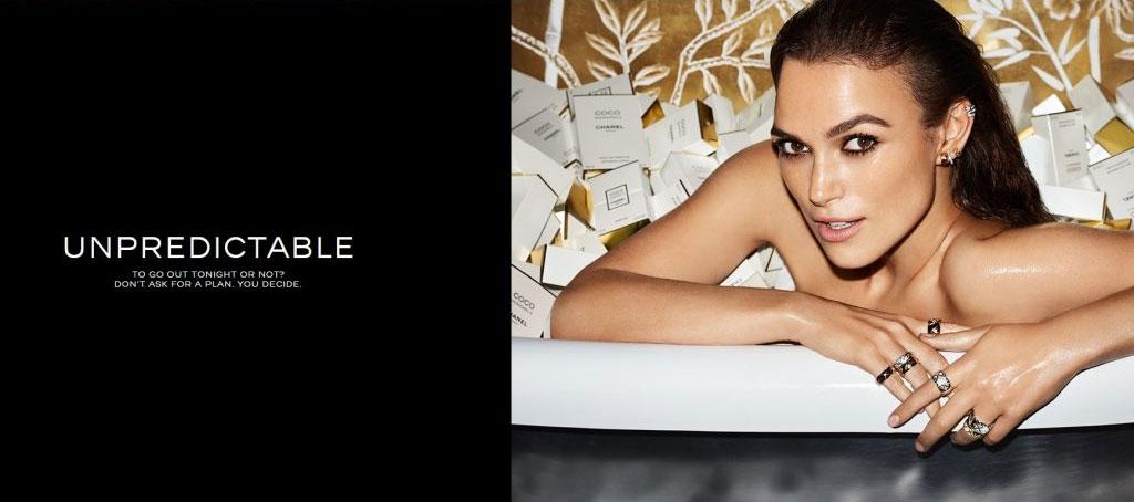 Chanel Coco Mademoiselle campaign - unpredictable