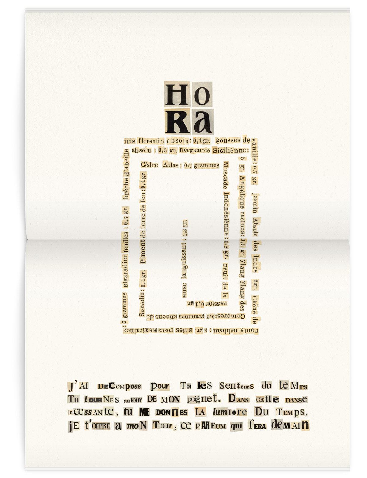 Hora perfume poem