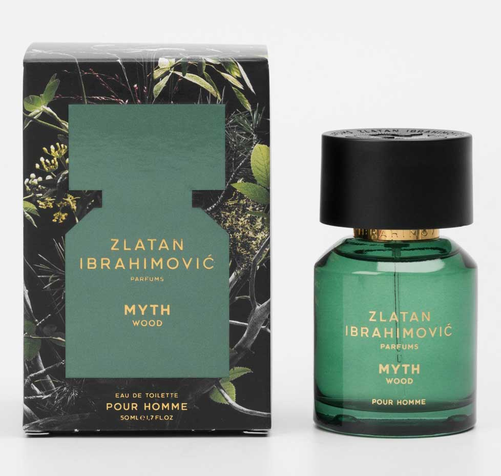 Zlatan Ibrahimovic Parfums Myth Wood & Myth Bloom