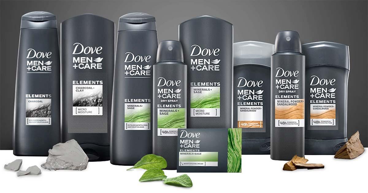 Dove Men Care Line Minerals Sage Bath Body