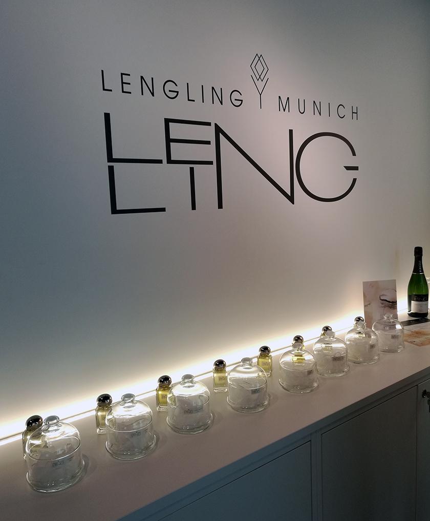 Milano foto van de Lengling stand