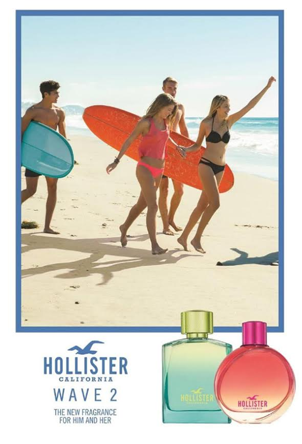 Hollister Wave 2 ad