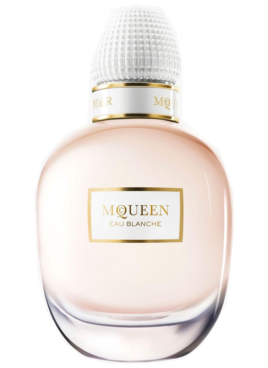 McQueen Eau Blanche bottle