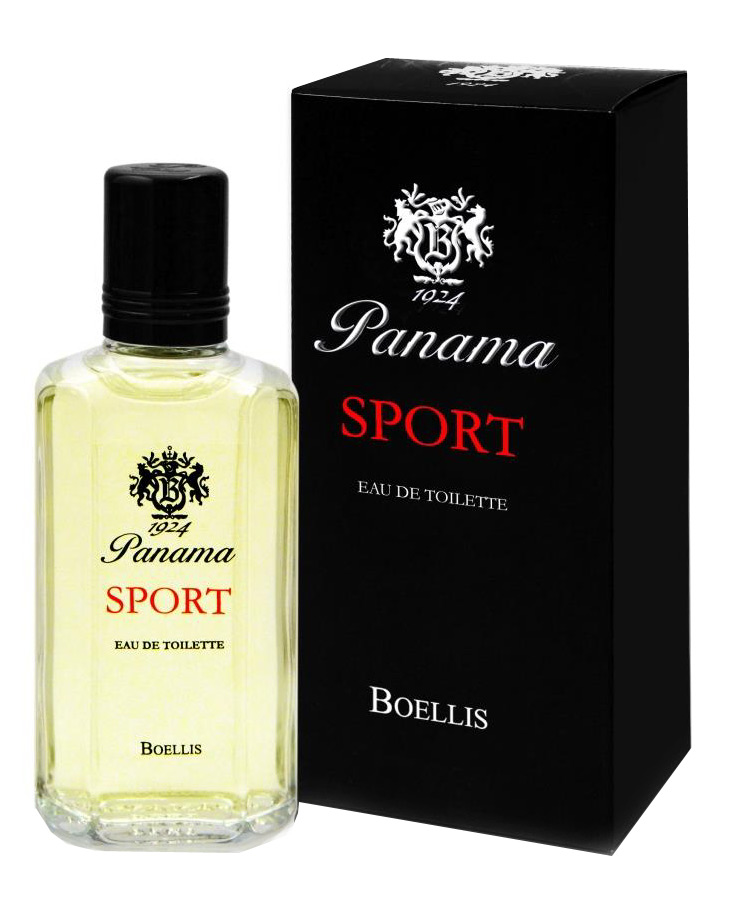 panama sport flacon and box