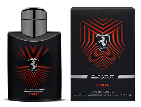 Scuderia Ferrari flacon and box