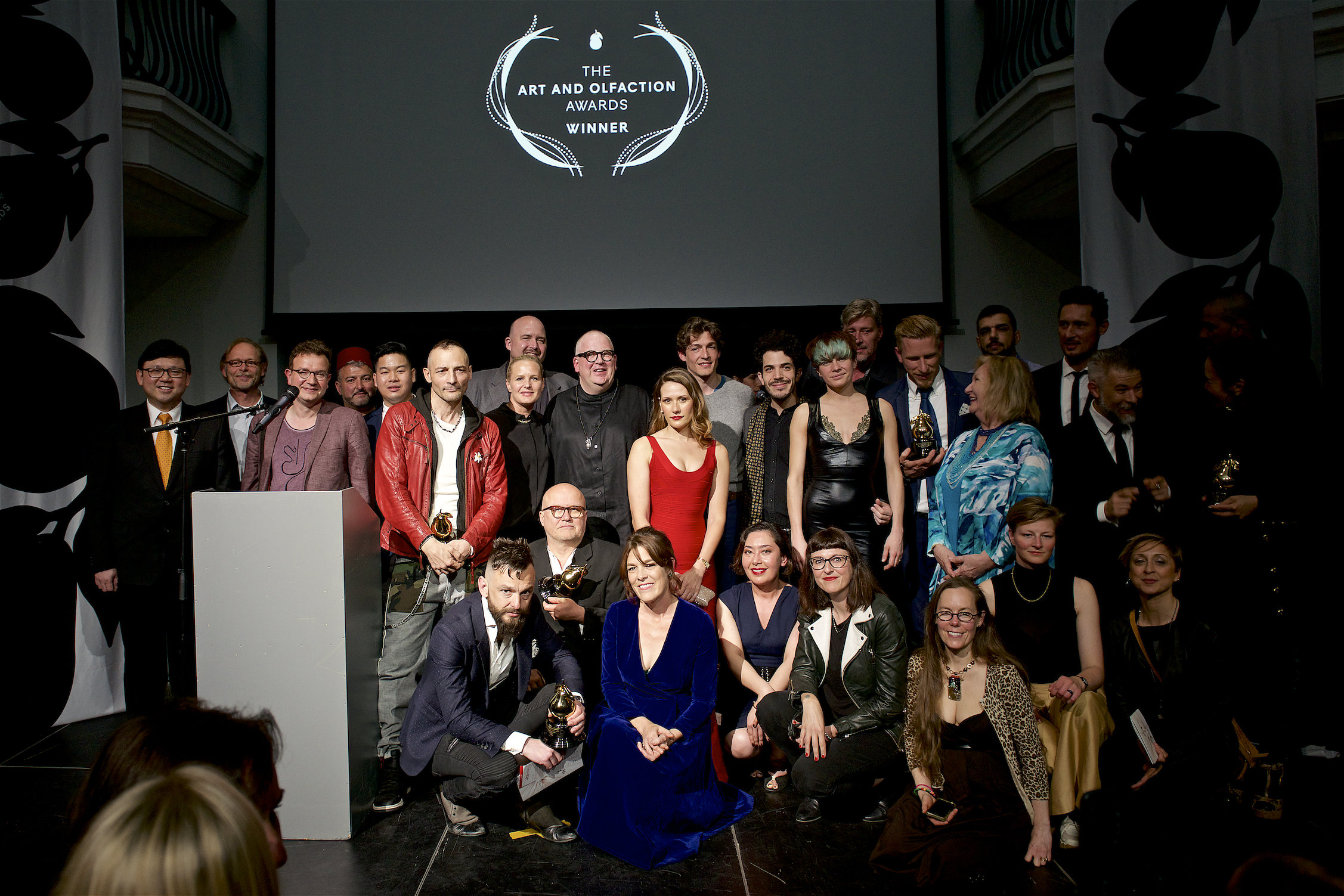 Winners and Nominees at the Art and Olfaction Award