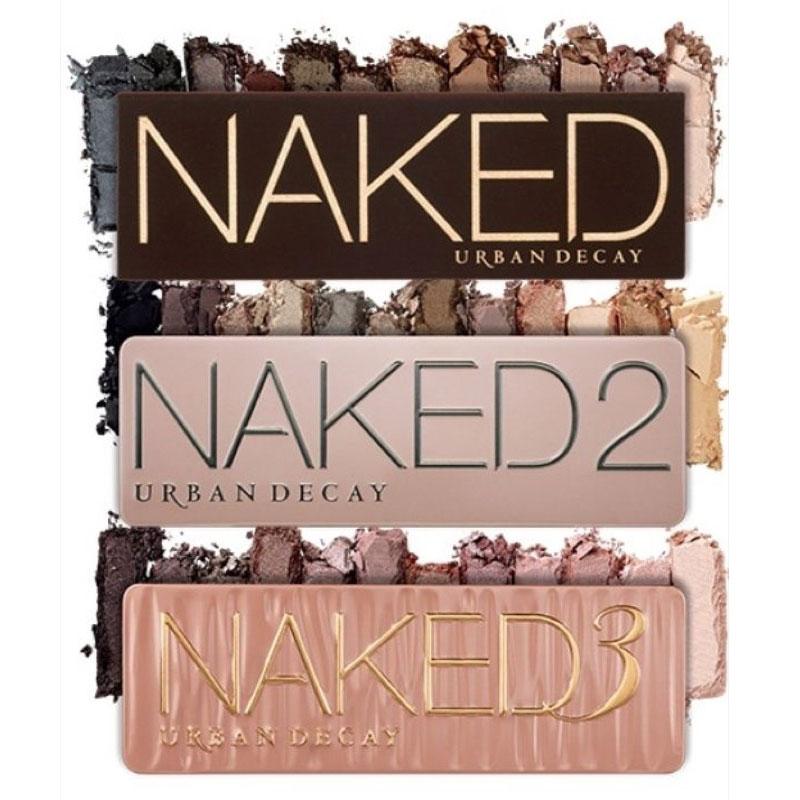 naked eyeshadow palettes