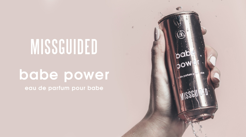 Missguided Babe Power banner