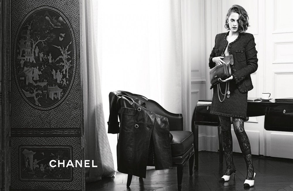 Kristin Stewart in Chanel ad