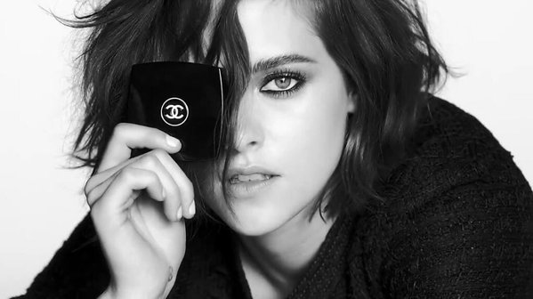 Kristin Stewart for Chanel makeup