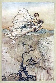 Arthur Rackham A Midsummer Nights Dream