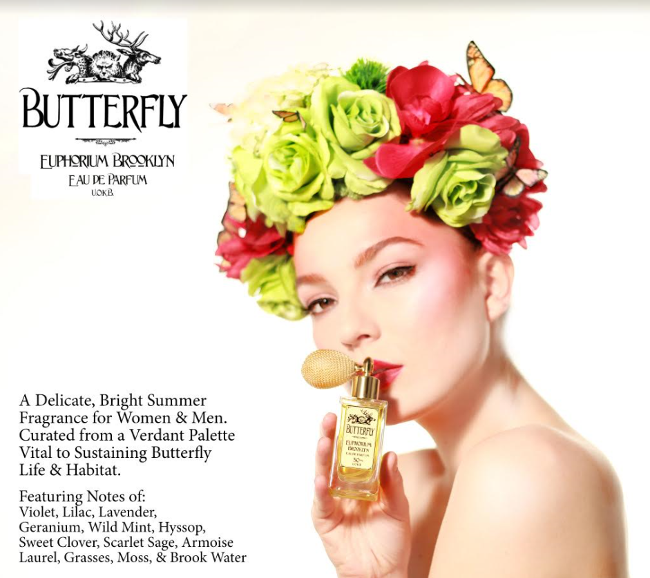 Euphorium Brooklyn Butterfly Ad