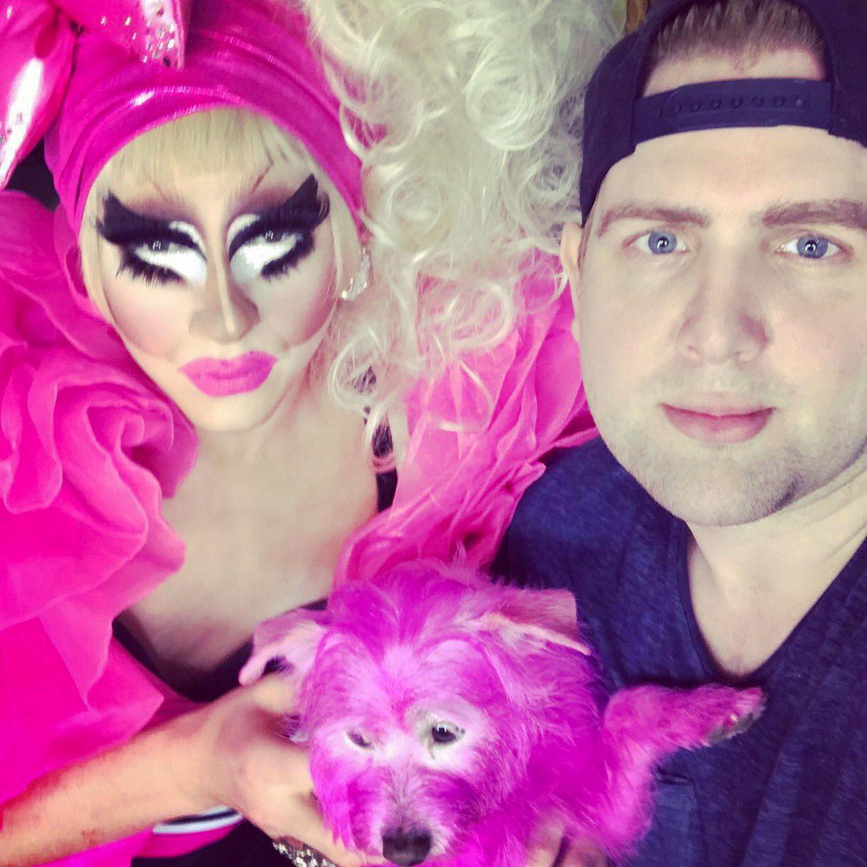Trixie Mattel and Killian Wells