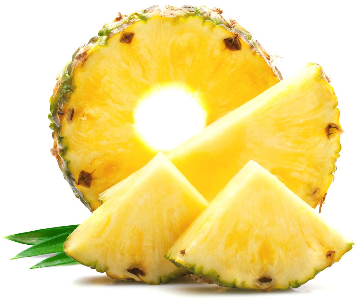 картинки кусочки ананаса