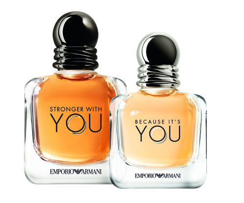 770f04a91c Giorgio Armani Emporio Armani Because It's You & Stronger With You ...
