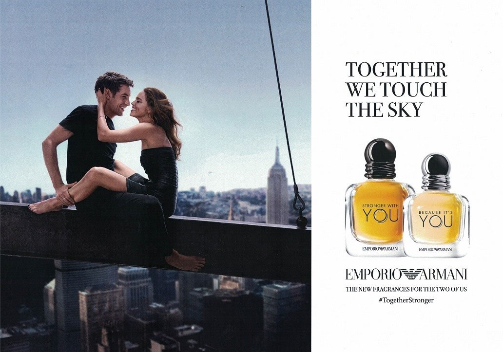 Giorgio Armani Emporio Armani Because Its You Stronger With You
