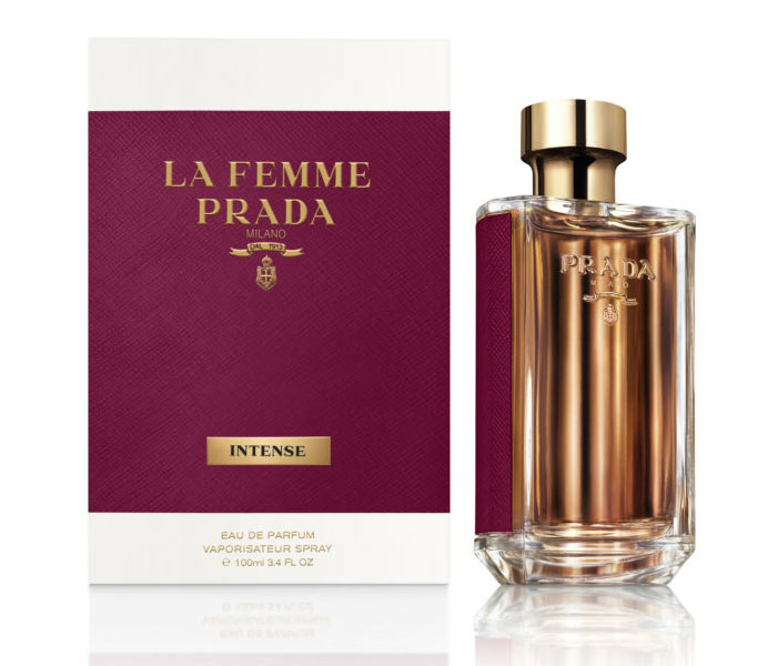 3001cf0a5631e العطور الجديدة من برادا La Femme Intense   L Homme Intense ~ إصدار جديد
