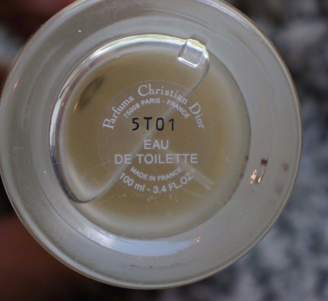 Christian Dior Fahrenheit 32 bottle bottom batch code