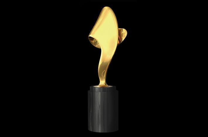 Fragrance Foundation award trophy