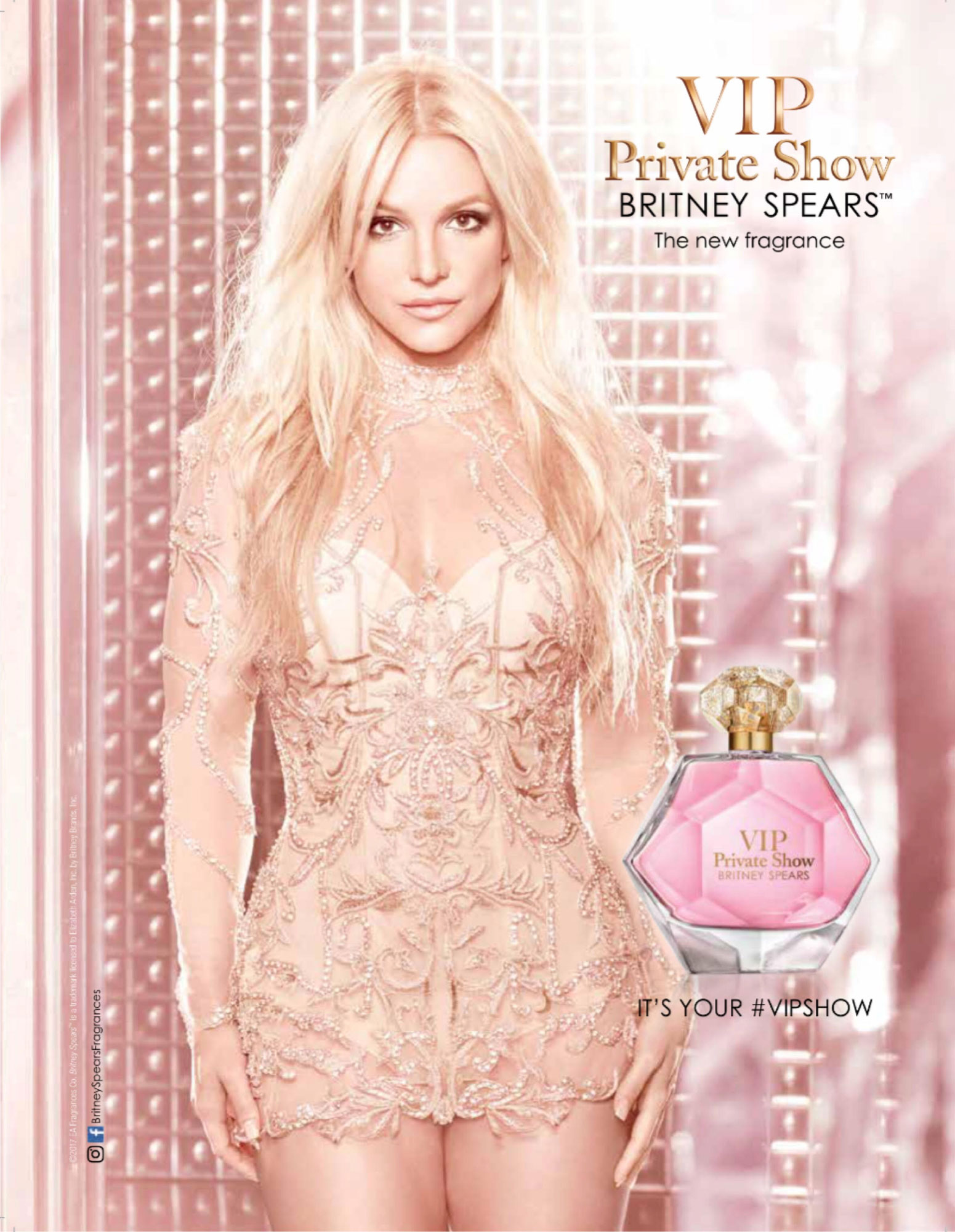 Britney Spears VIP Private Show ad