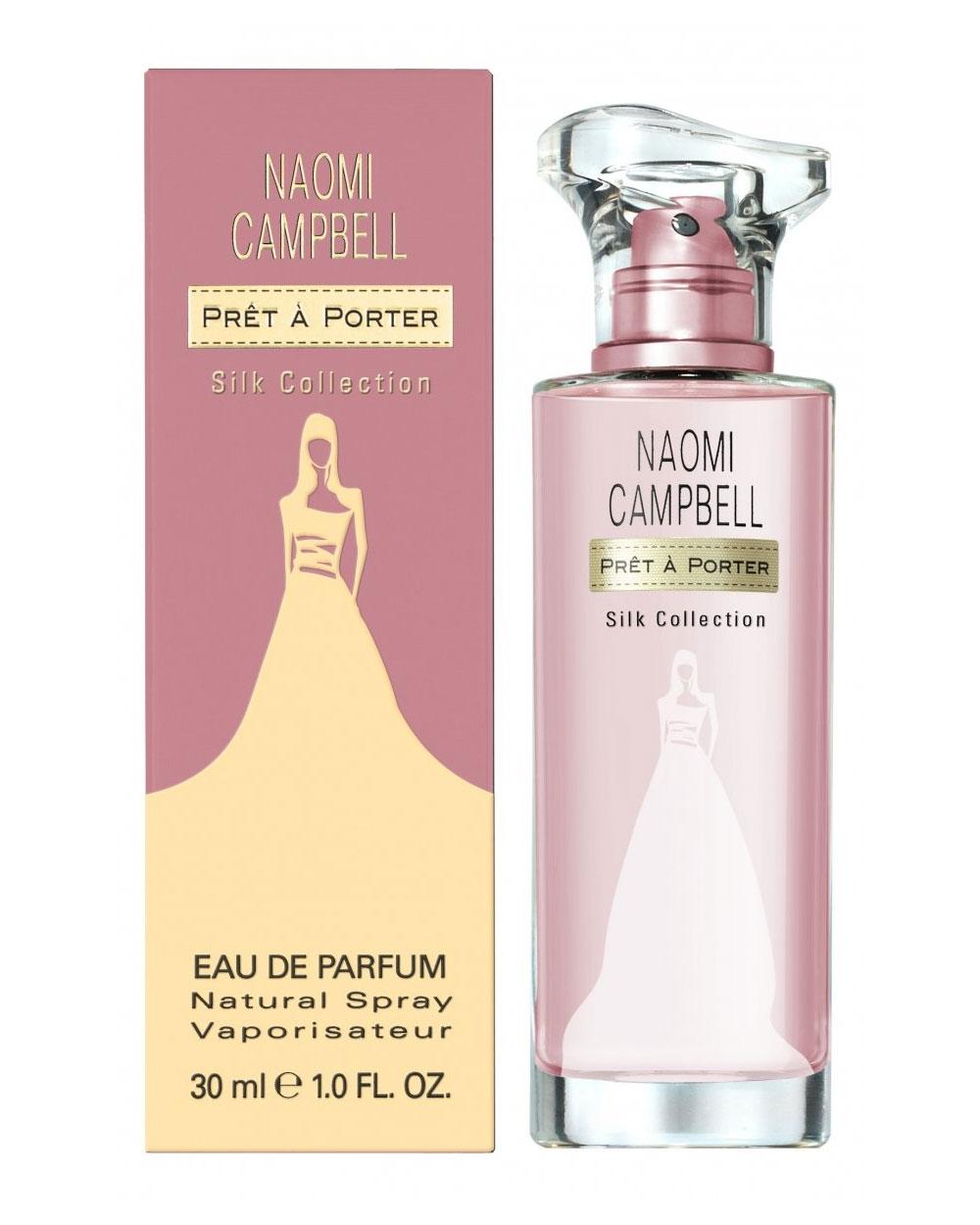 Naomi Campbell Prêt à Porter Silk Collection новые ароматы