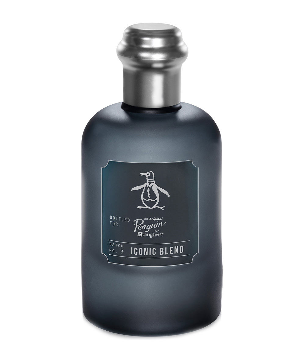 original penguin iconic blend eau de toilette new fragrances. Black Bedroom Furniture Sets. Home Design Ideas
