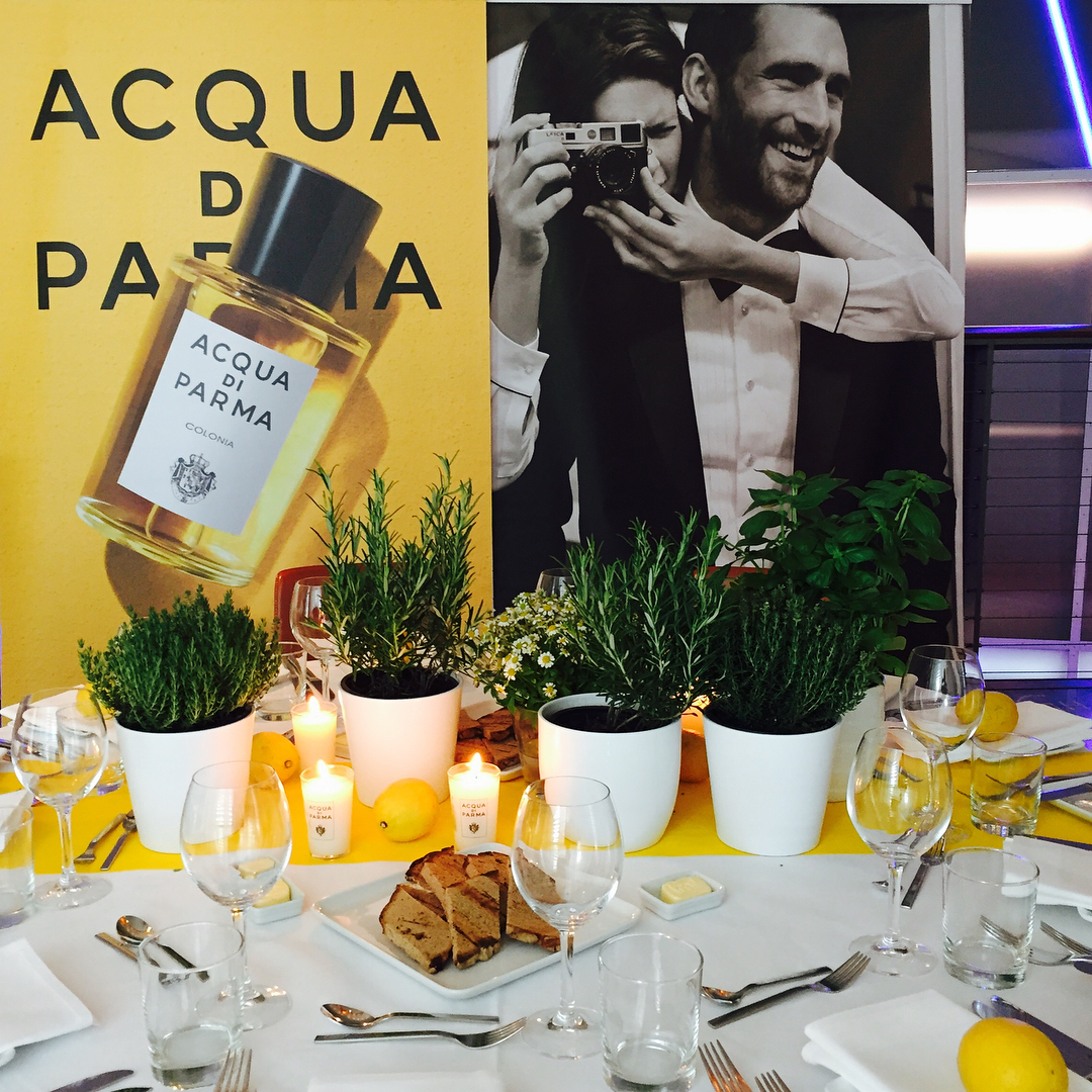 Acqua di Parma Colonia Pura launch, instagram