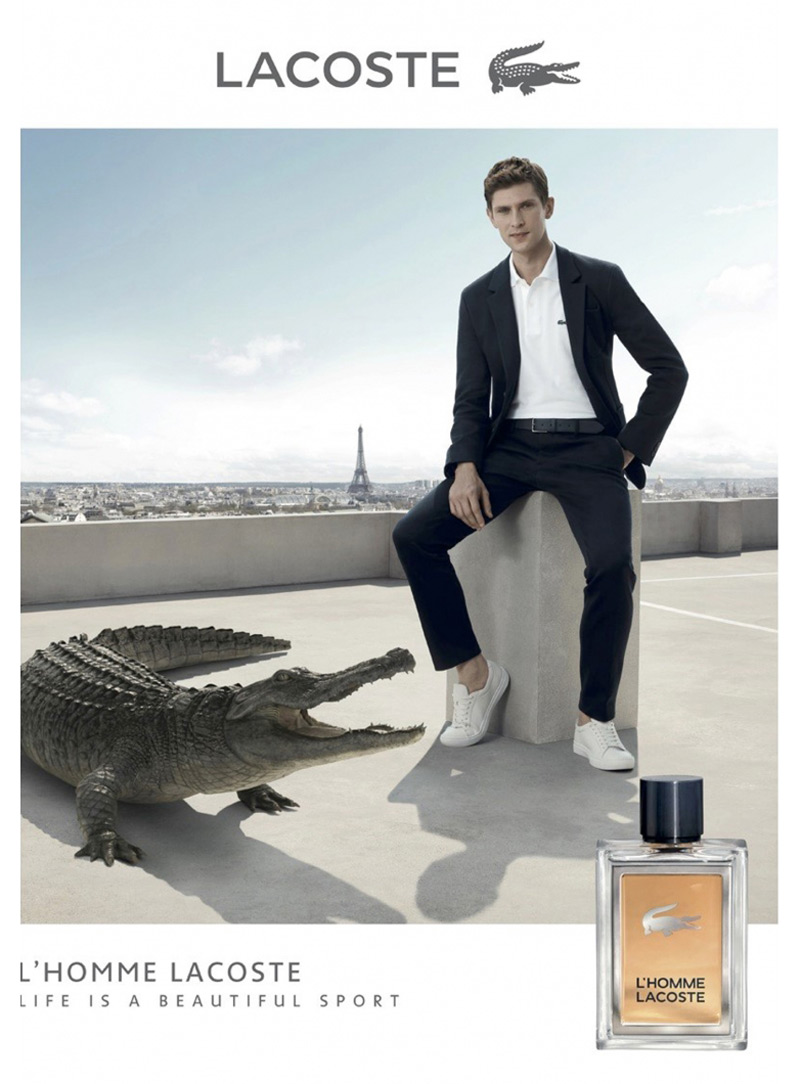 bfd68597bd925 LACOSTE launches a new fragrance in the sporty-elegant style of the Lacoste  man, inspired by the tenacity and strength of the crocodile.