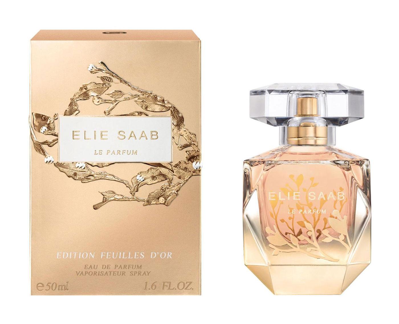 a409eed91 العطر الجديد من ايلي صعب Le Parfum Edition Feuilles d'Or ~ إصدار جديد
