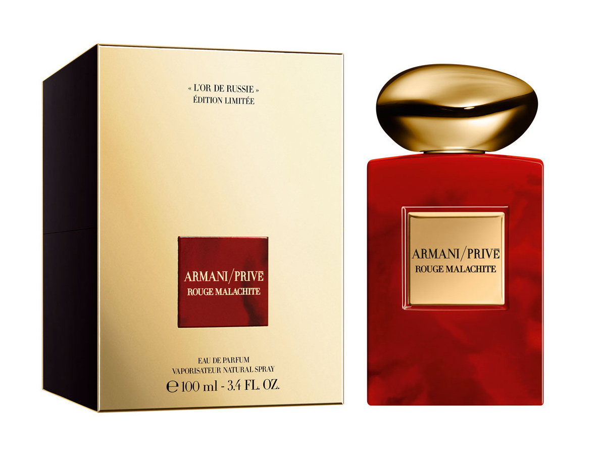 3e3cd6656 Armani Prive Limited Edition Rouge Malachite: L'Or De Russie ~ إصدار ...