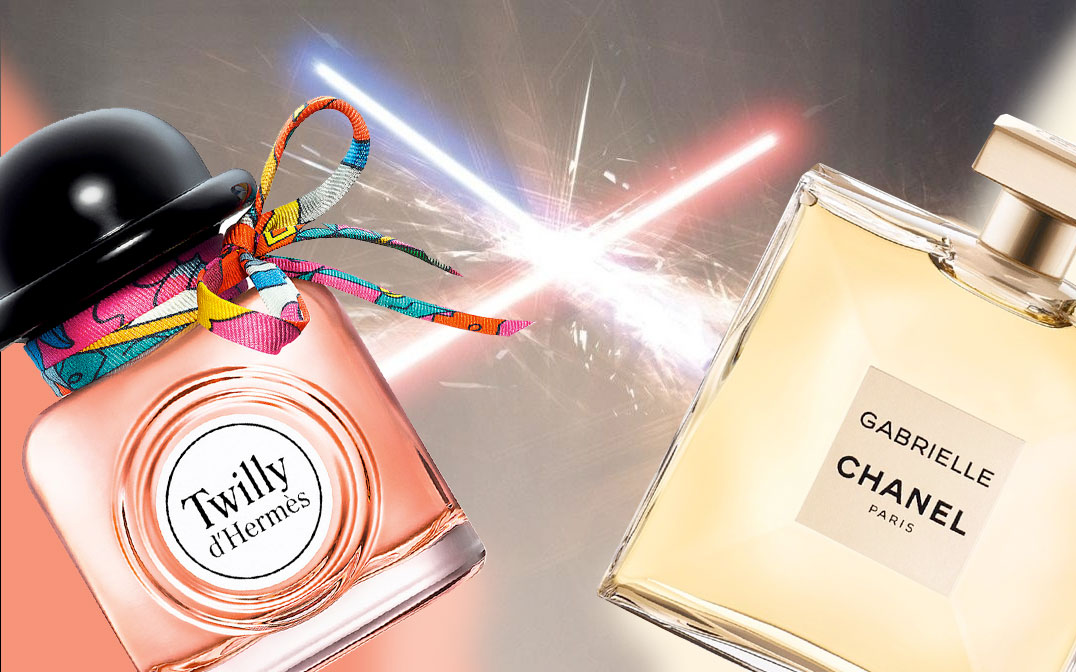 Star Wars Reloaded  Chanel Gabrielle vs. Twilly d Hermès ~ Columns 09d7b5fea7a