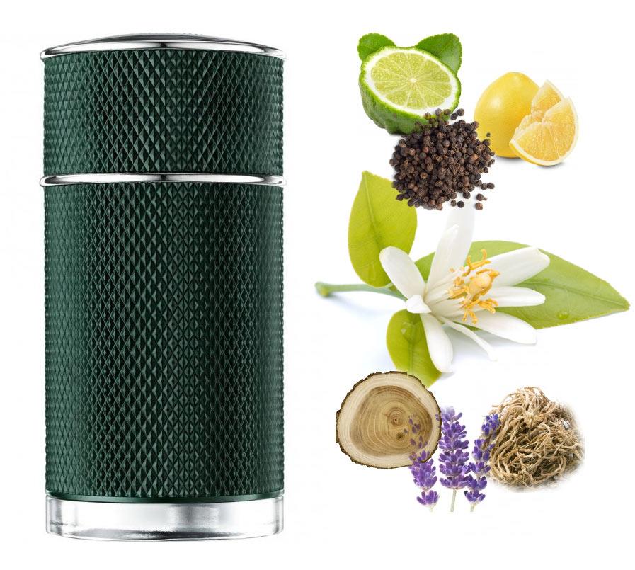 61a0a420d Dunhill ICON مع اللون الأخضر البريطاني الشهير ~ إصدار جديد