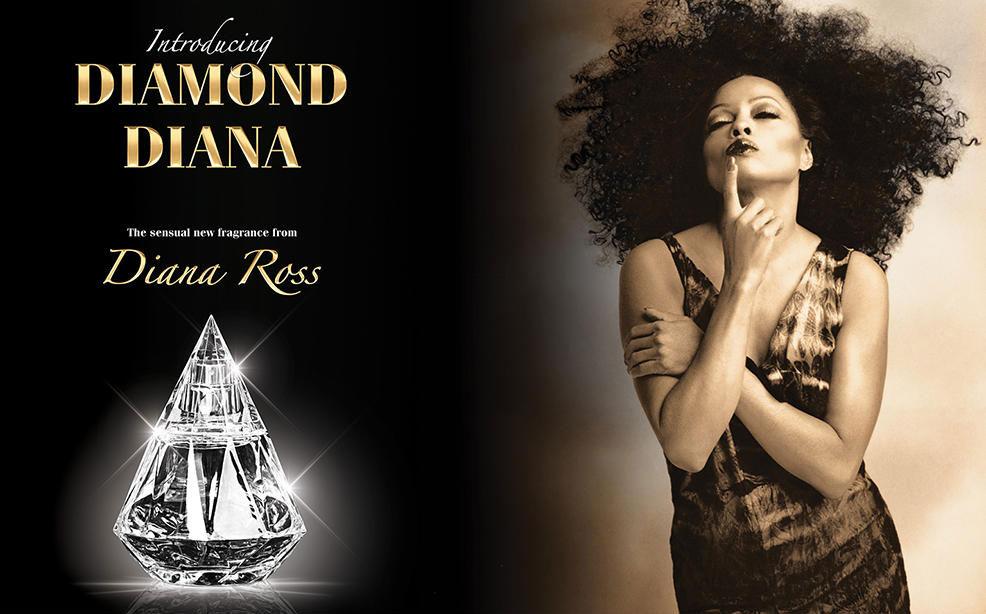 diana ross diamond diana ~ new fragrances