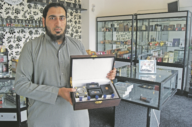 Attar Kaba official by scent salim pure Oud blend attar by Oud shop Leeds
