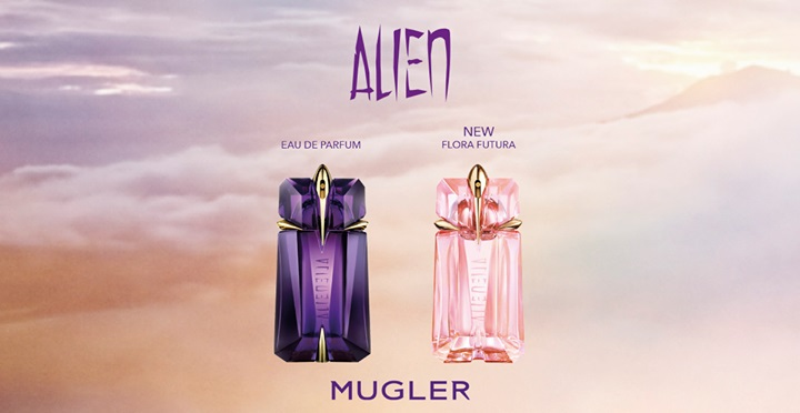 mugler alien flora futura new fragrances. Black Bedroom Furniture Sets. Home Design Ideas