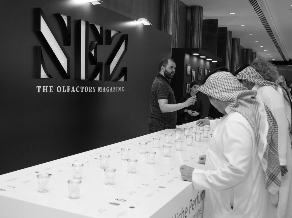 NEZ exposition at The Scent