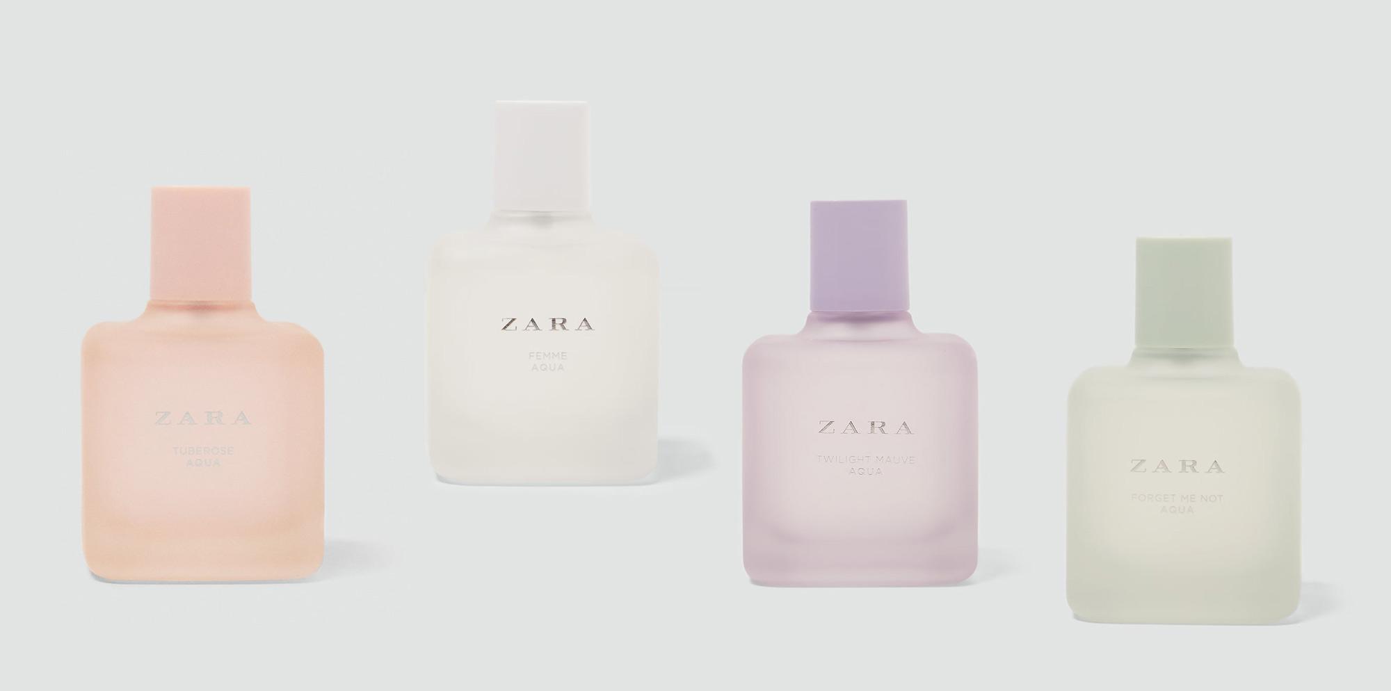 Zara Aqua Collection Spring 2018 New Fragrances