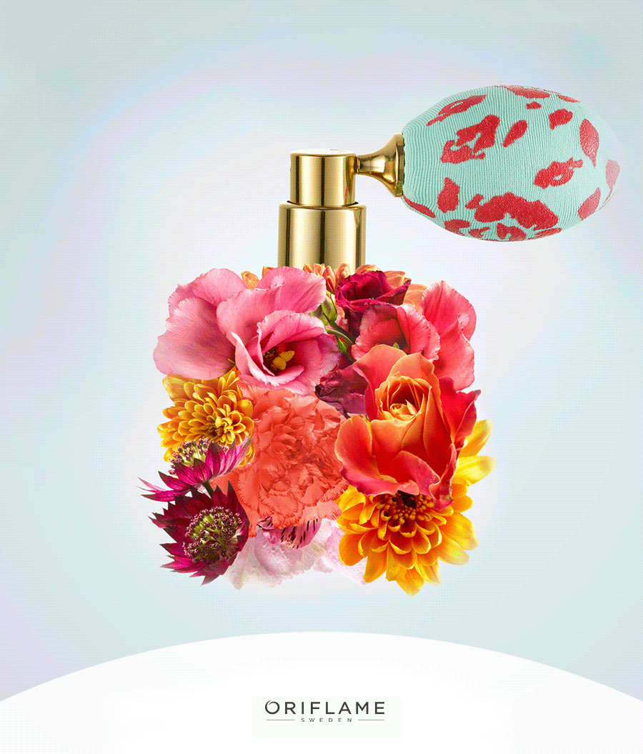 Celebrate The Arrival Of Spring With Oriflame Live In Colour New