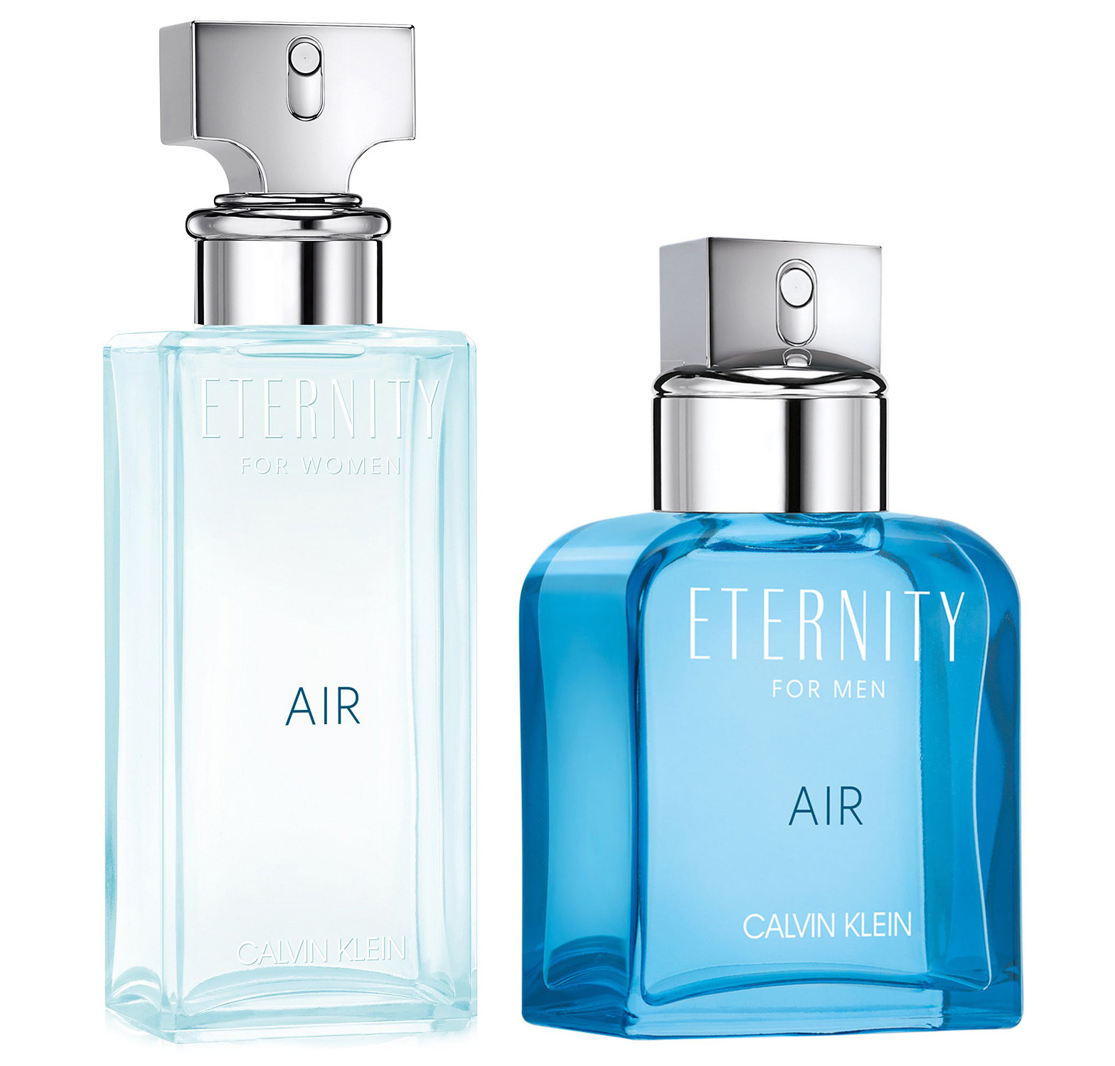 Eternity Air By Calvin Klein New Fragrances Man Duo