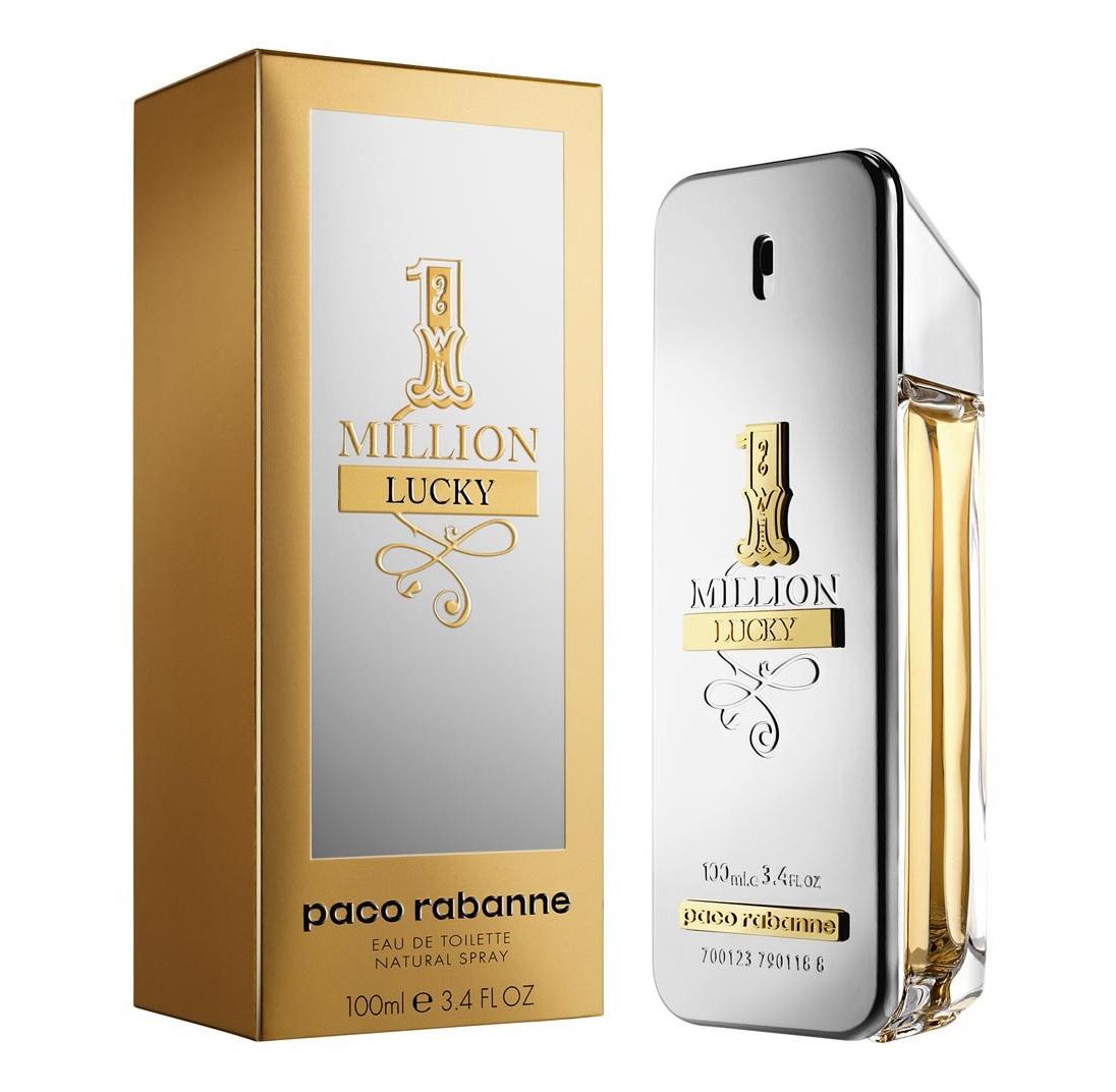 2b7823633 العطور الجديدة من باكو رابان One Million Lucky & Lady Million Lucky ...