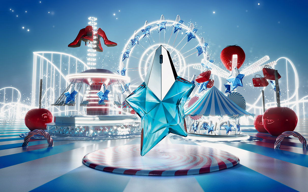 The Carousel Of Delights Mugler Angel Fruity Fair New Fragrances