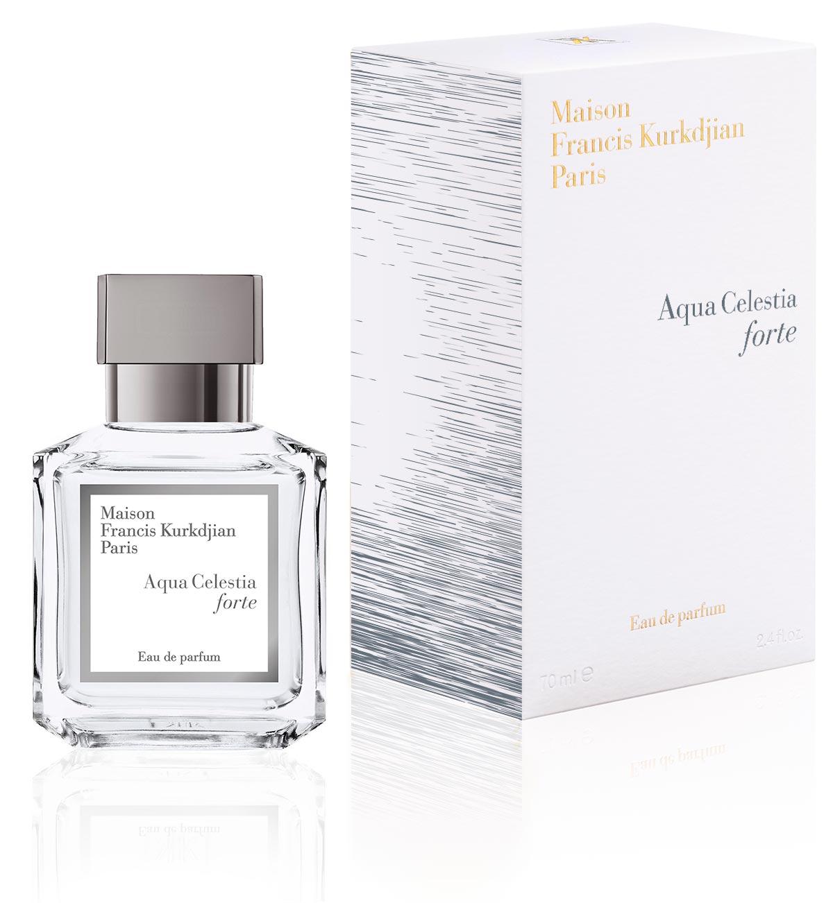 Maison Francis Kurkdjian Presents Aqua Celestia Forte