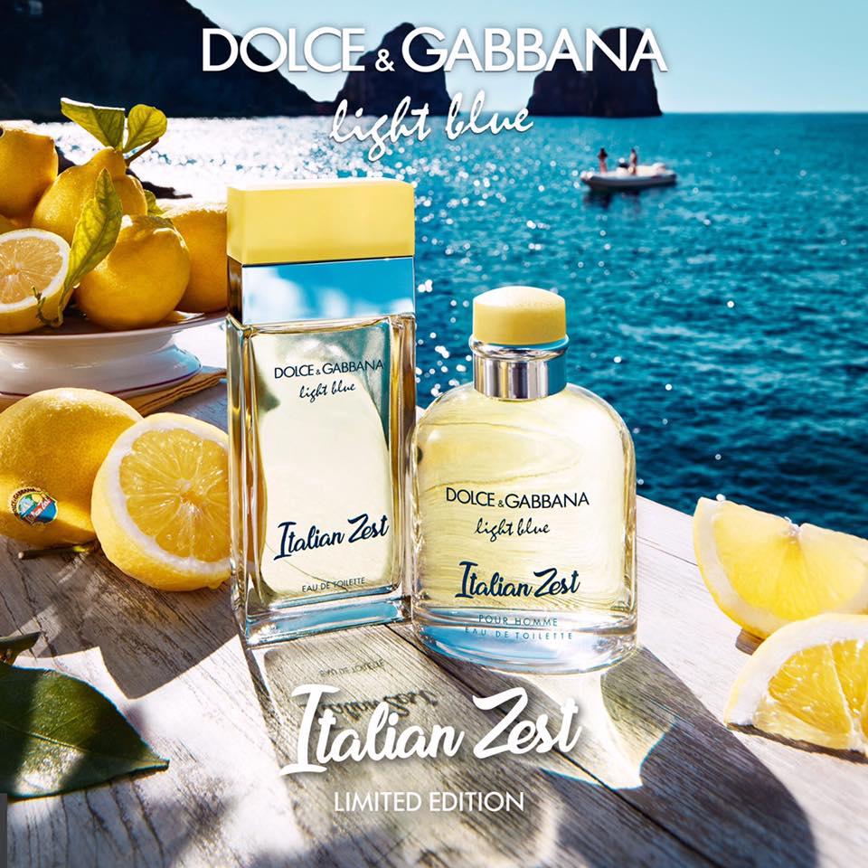 Light Blue And Beige Living Room: Dolce & Gabbana Light Blue Italian Zest Limited Duo