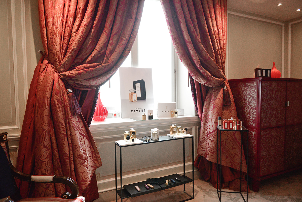 Milan Hotel Room Where Divine Fragrances Were Shown