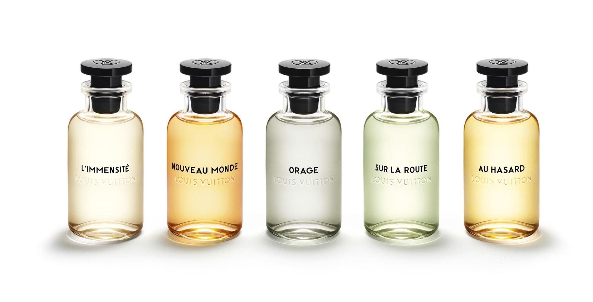 d5457781c Les Parfums Louis Vuitton for Men العطور الجديدة من لويس فيتون ...