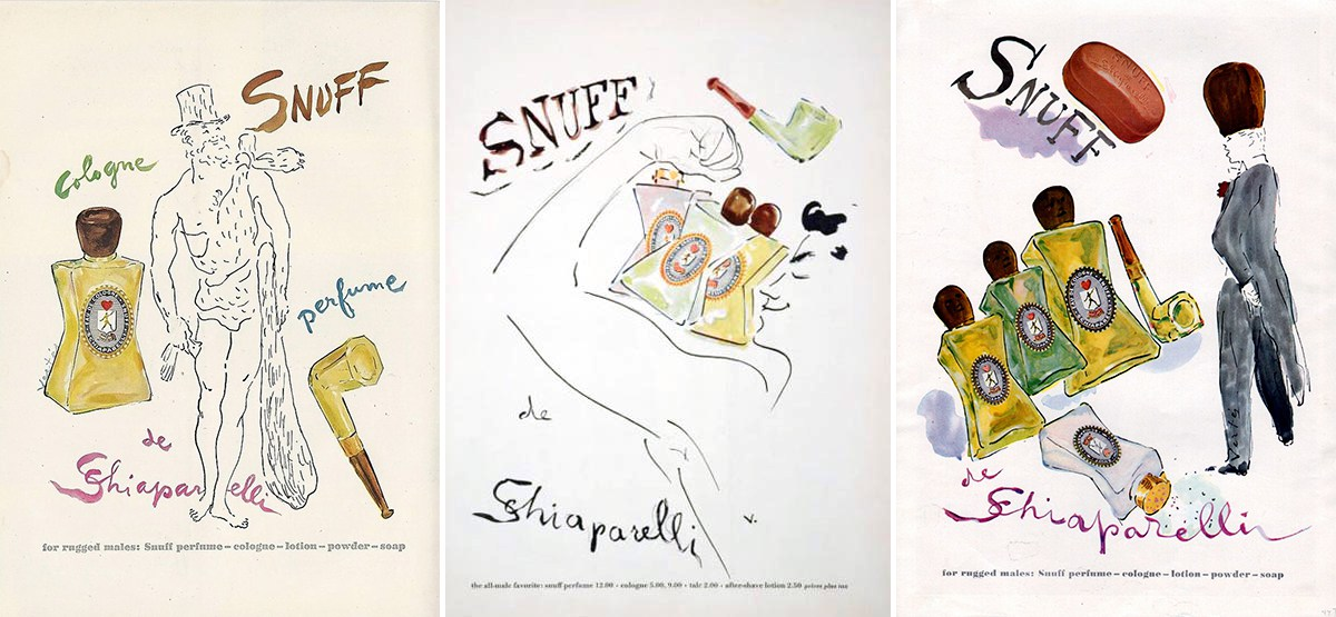 Snuff posters by Marcel Vertes