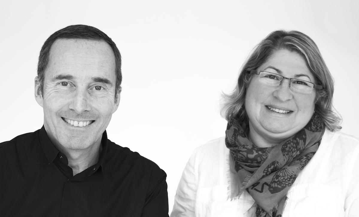 Olivier Cresp and Nathalie Lorson