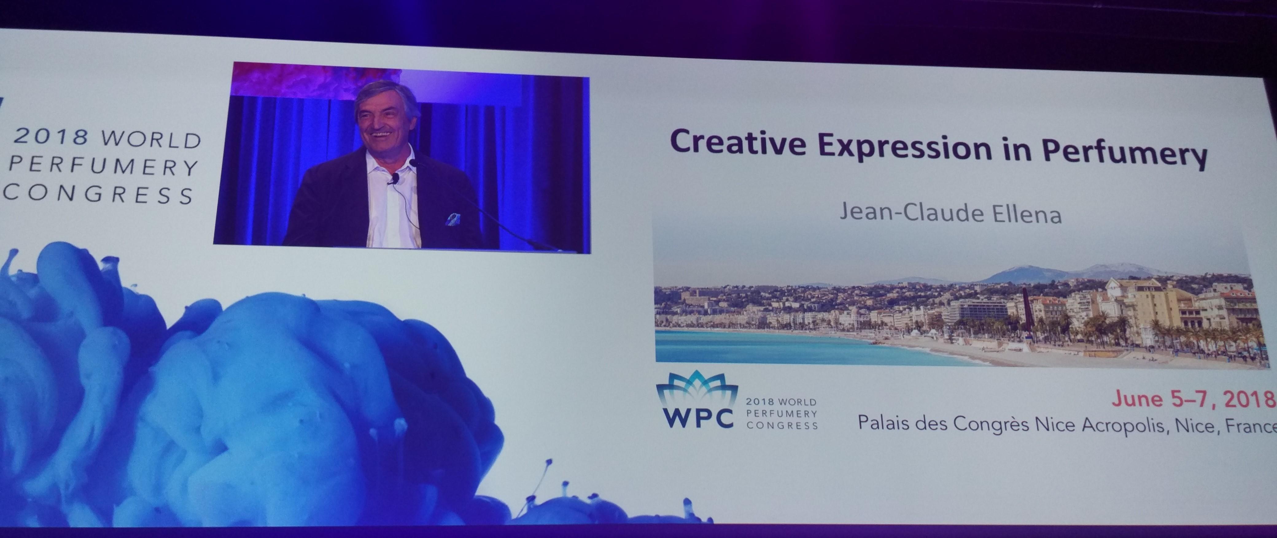 World Perfumery Congress 2018: Jean-Claude Ellena on Creative ...