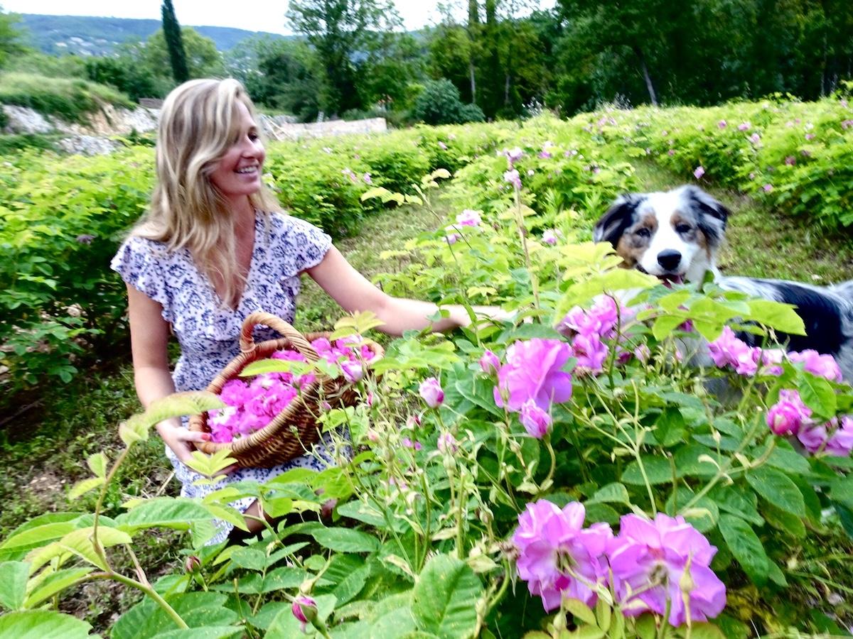 MAckenzie Reily with her dog Luna